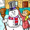 Winter Fun Coloring Game